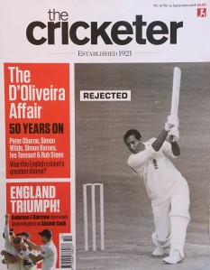 Cricketer Sept 2018