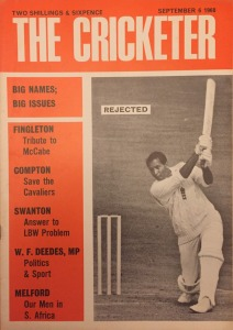 Dolly Cricketer cover image Sept 1968